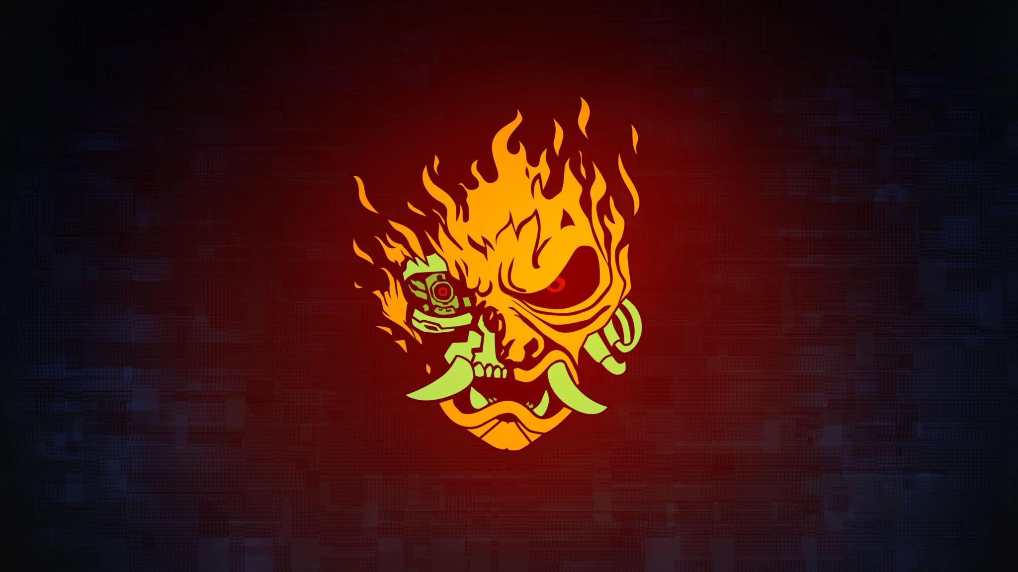 cyberpunk 2077 logo samourai