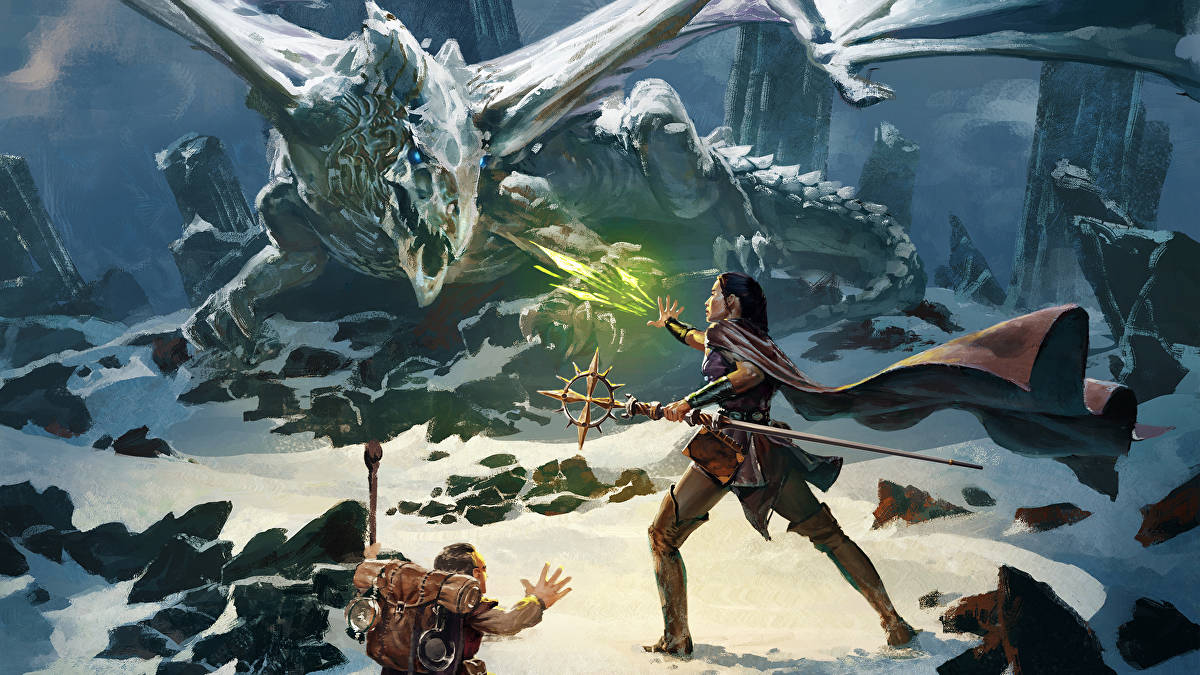 Dungeons & Dragons Titre
