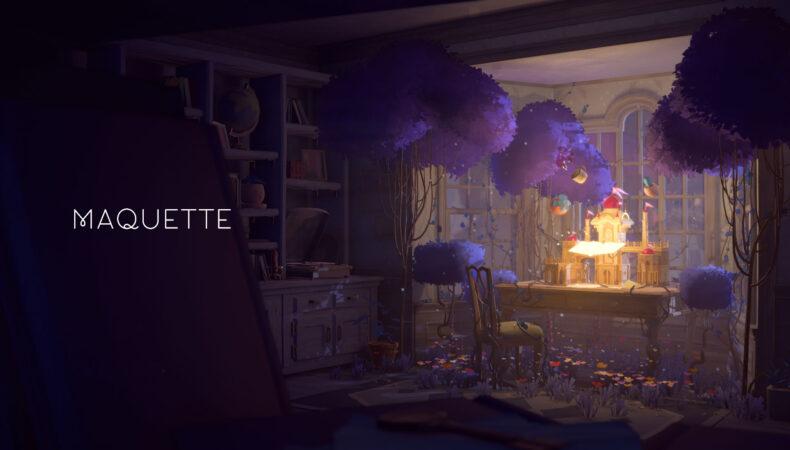 Maquette écran titre