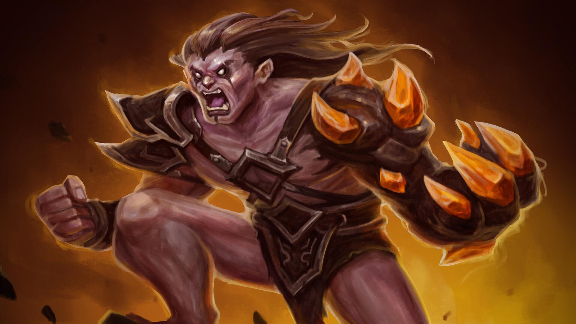 rising hell artwork