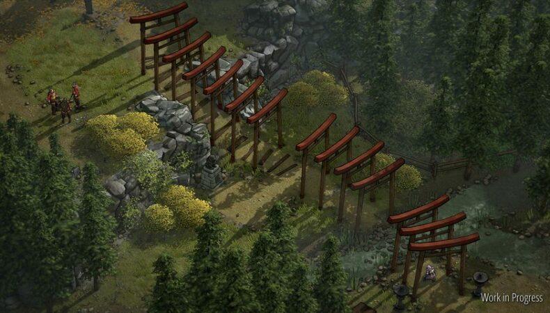 Shadow Tactics : Blades of the Shogun infiltration