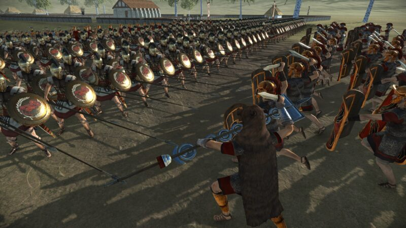 Total War: Rome Remastered bataille hoplites
