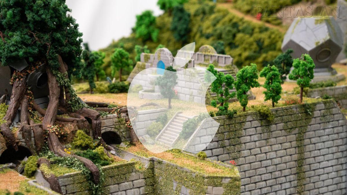 Apple Arcade Fantasian décors