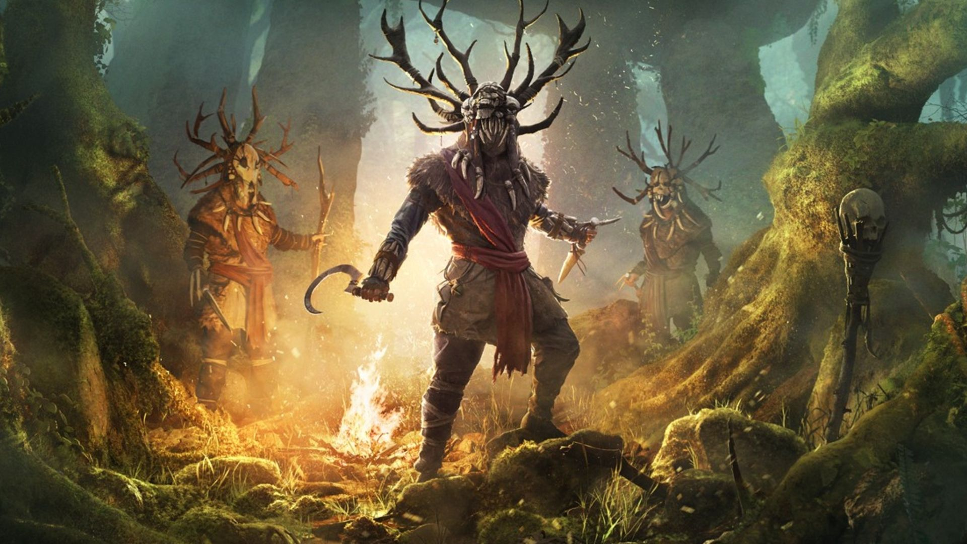 AC Valhalla Colere des druides heros