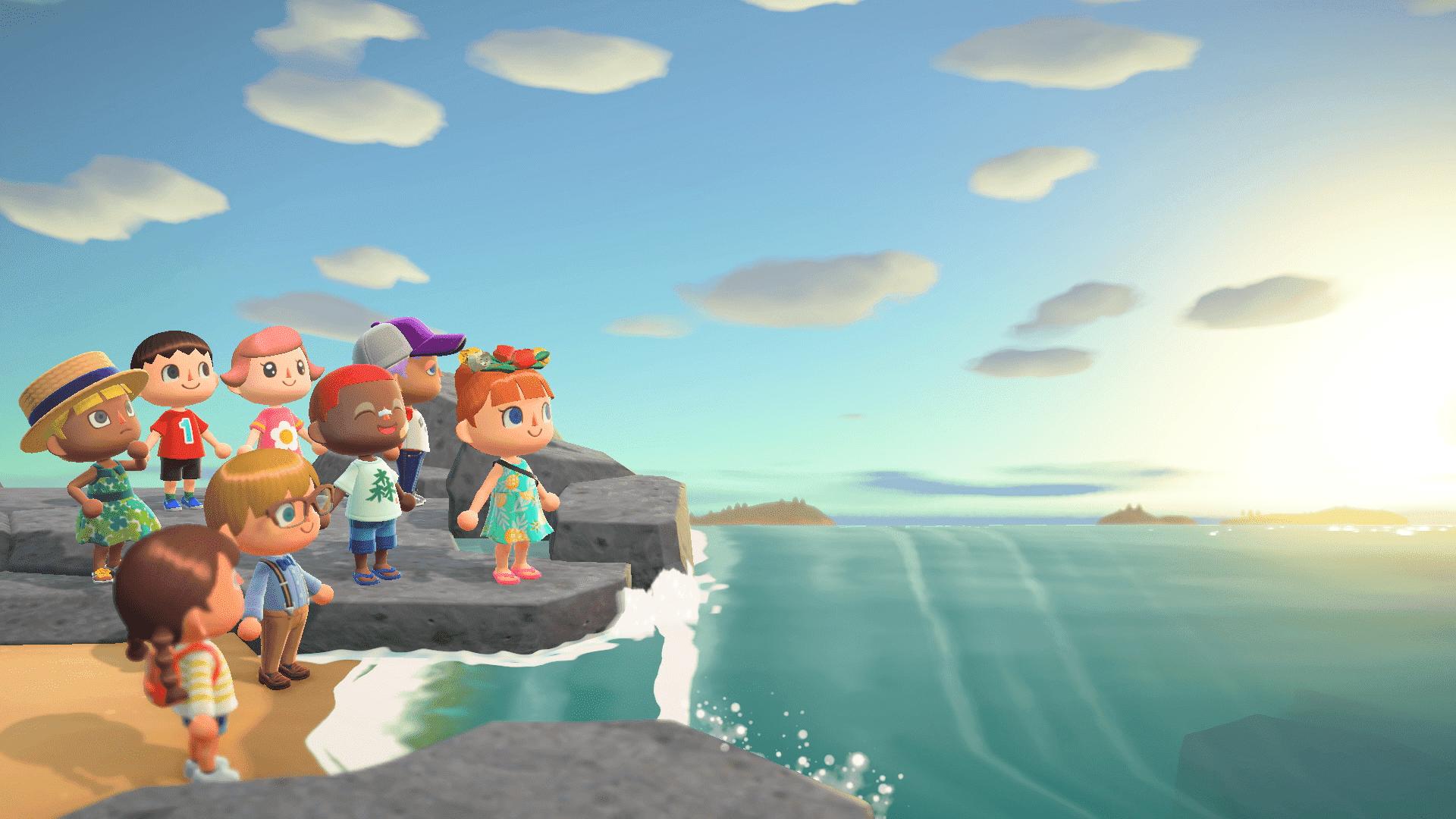 Animal Crossing Paysage