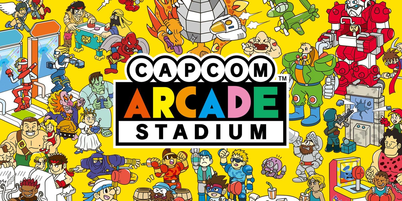 Capcom Arcade Stadium logo