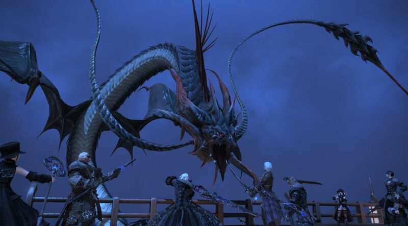 Final Fantasy XIV Shadowbringers - Leviathan irréel