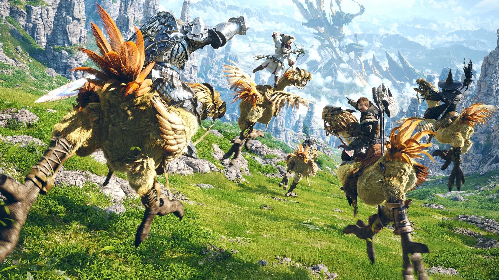 Final Fantasy XIV bêta PS5 - Guide sauvegarde