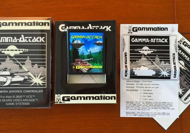 Gamma Attack jeu rare collections