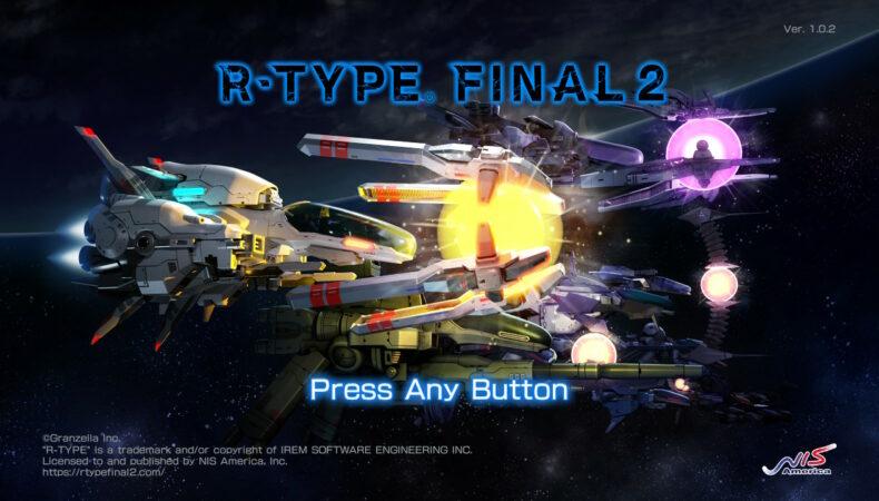 R-TYPE Final 2 écran titre