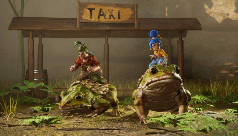It takes Two grenouilles