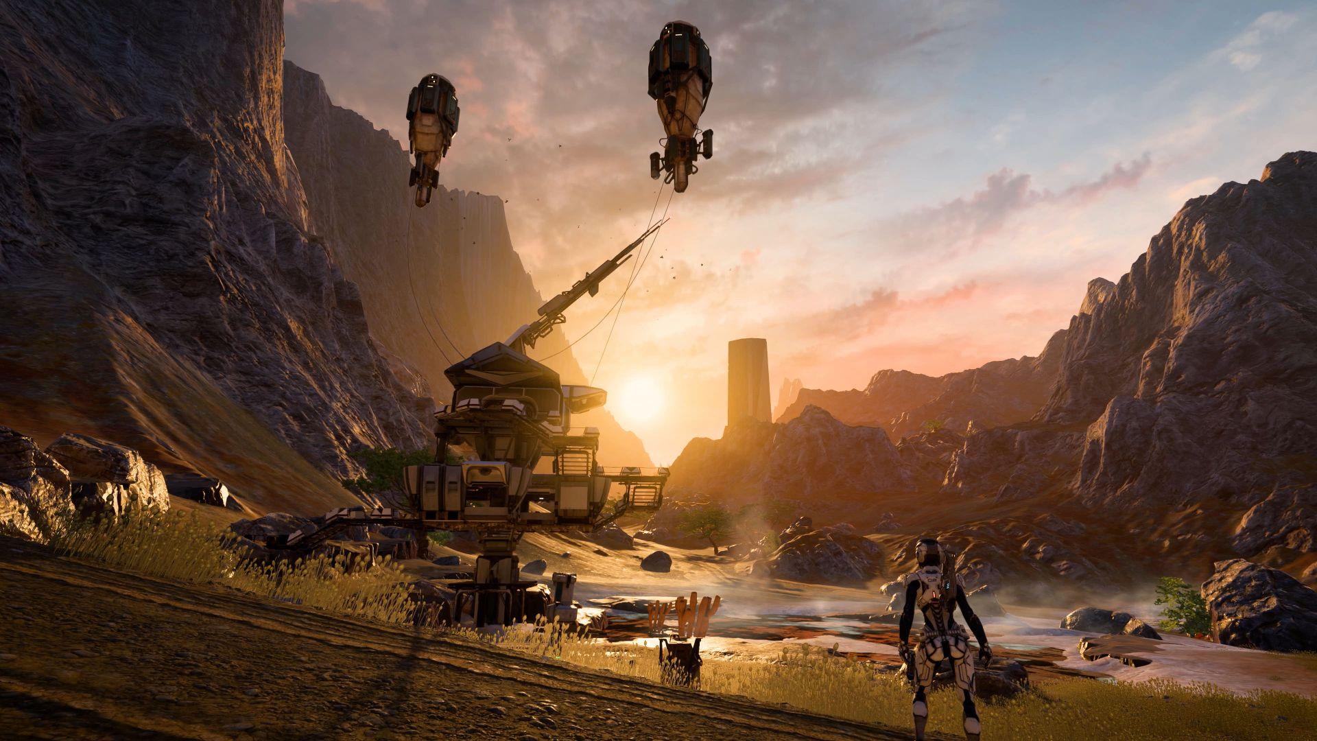 Mass Effect andromeda Home