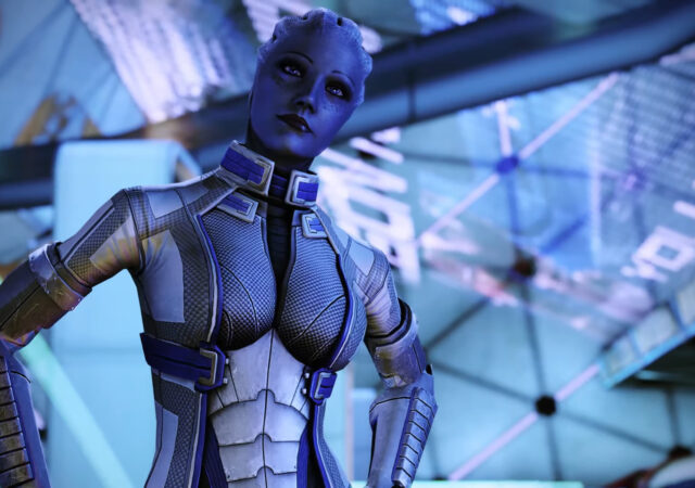 Mass effect Legendary Edition Liara