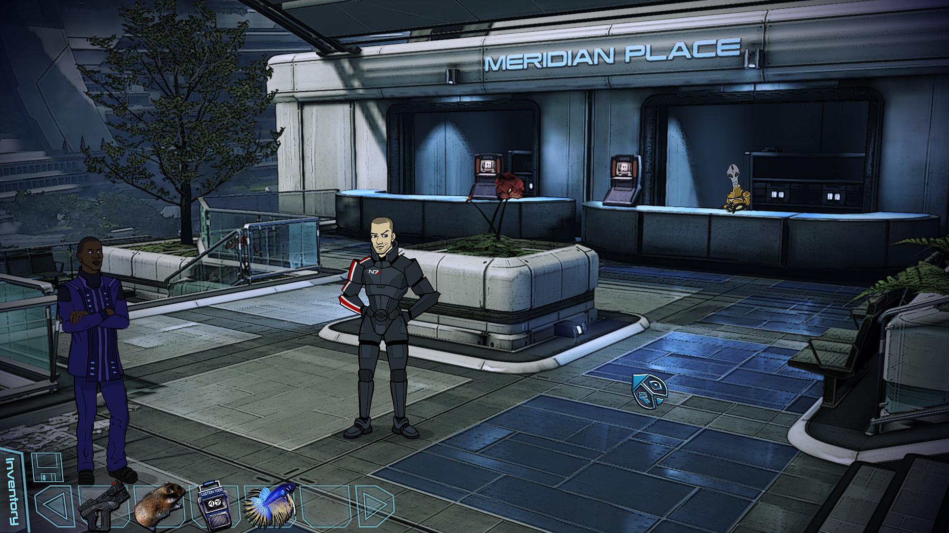 Mass Effect Point n Click