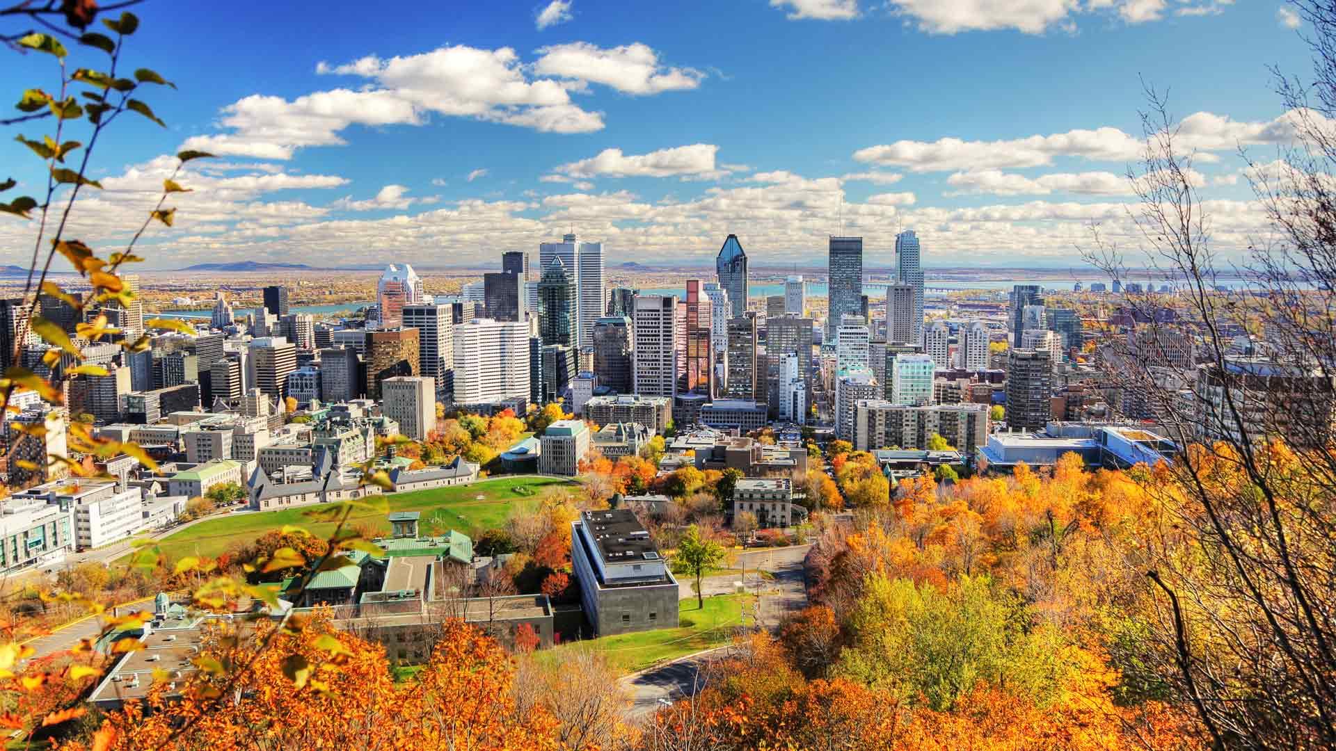 Montréal paysage