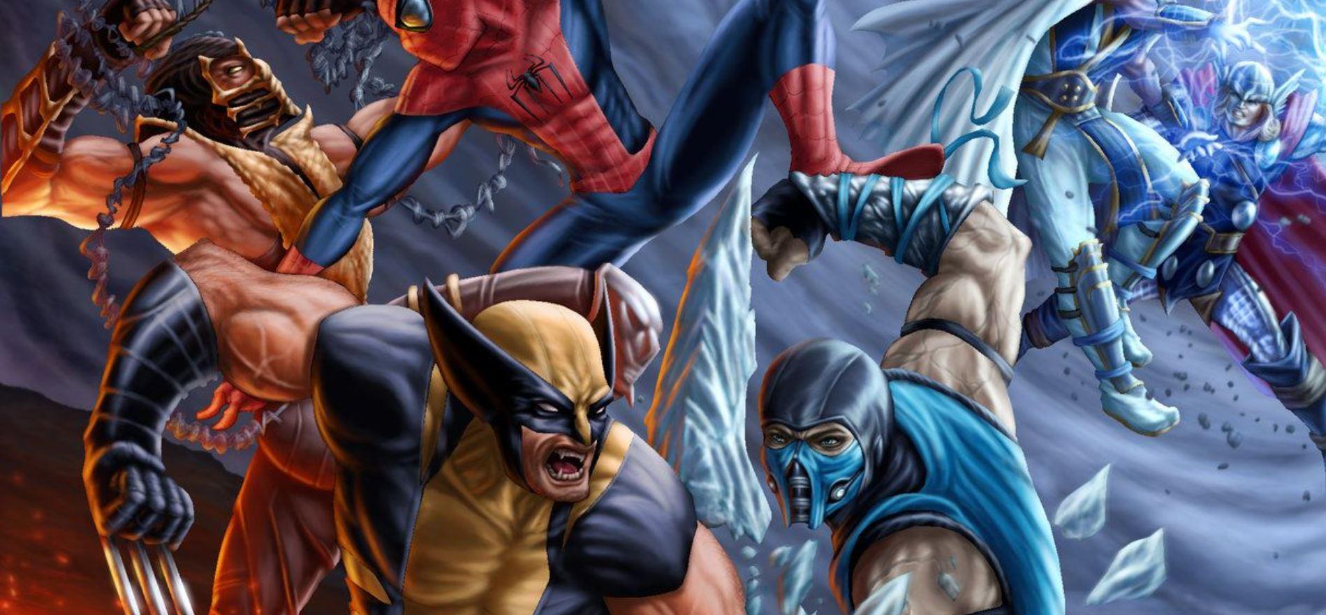 Mortal kombat marvel crossover