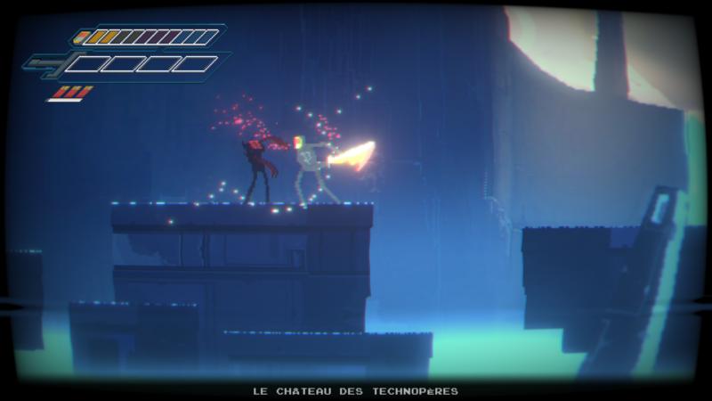 Narita Boy - La techno-épée peut pourfendre tous type de pixel !