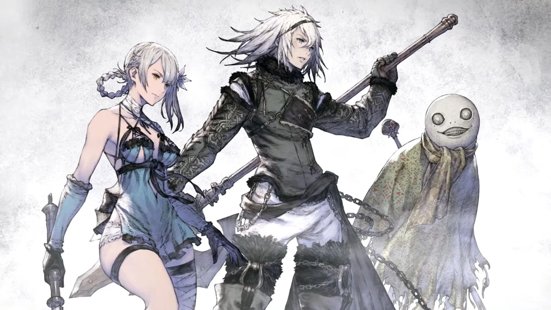 NieR Replicant artwork