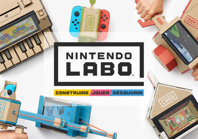 La fin pour Nintendo Labo ?