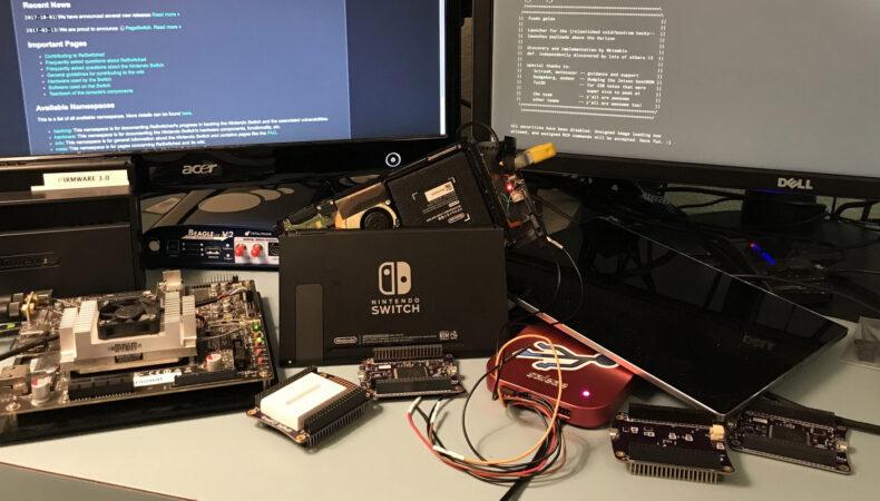 Nintendo hackers switch