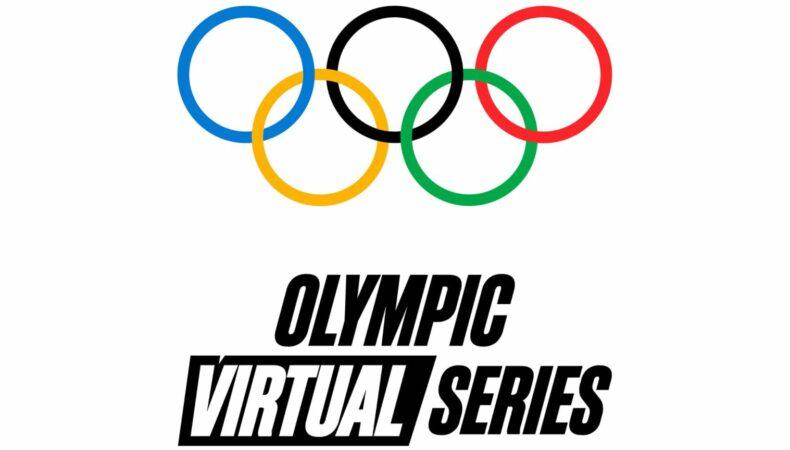 Olympic virtual series anneaux