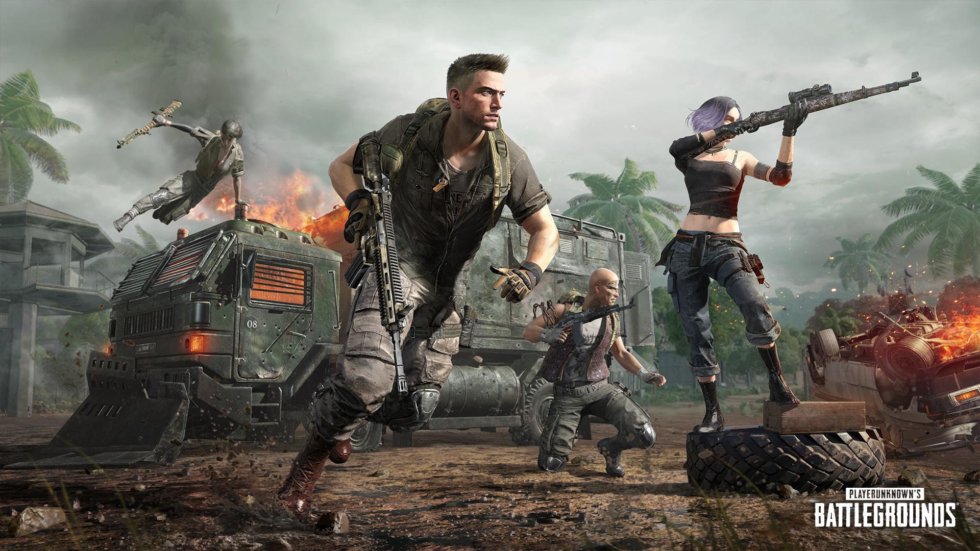 PUBG - PlayerUnknown's Battlegrounds Poster