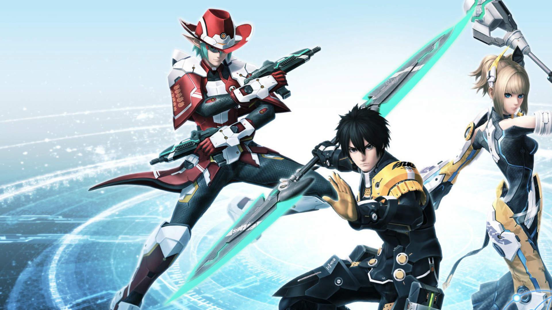 Phantasy Star Online 2 New genesis heroes