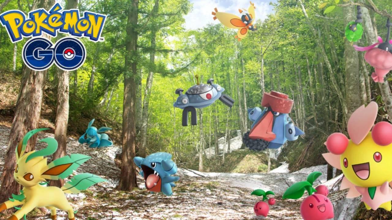 Pokémon GO - 5G monstres