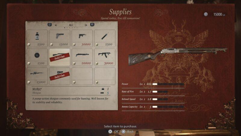 The Mercenaries améliorations armes