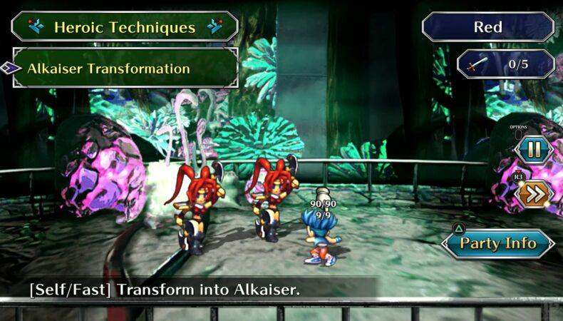 SaGa frontier Remastered Combat