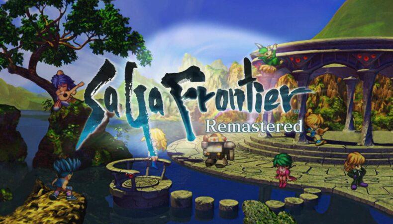 SaGa Frontier Remastered Logo