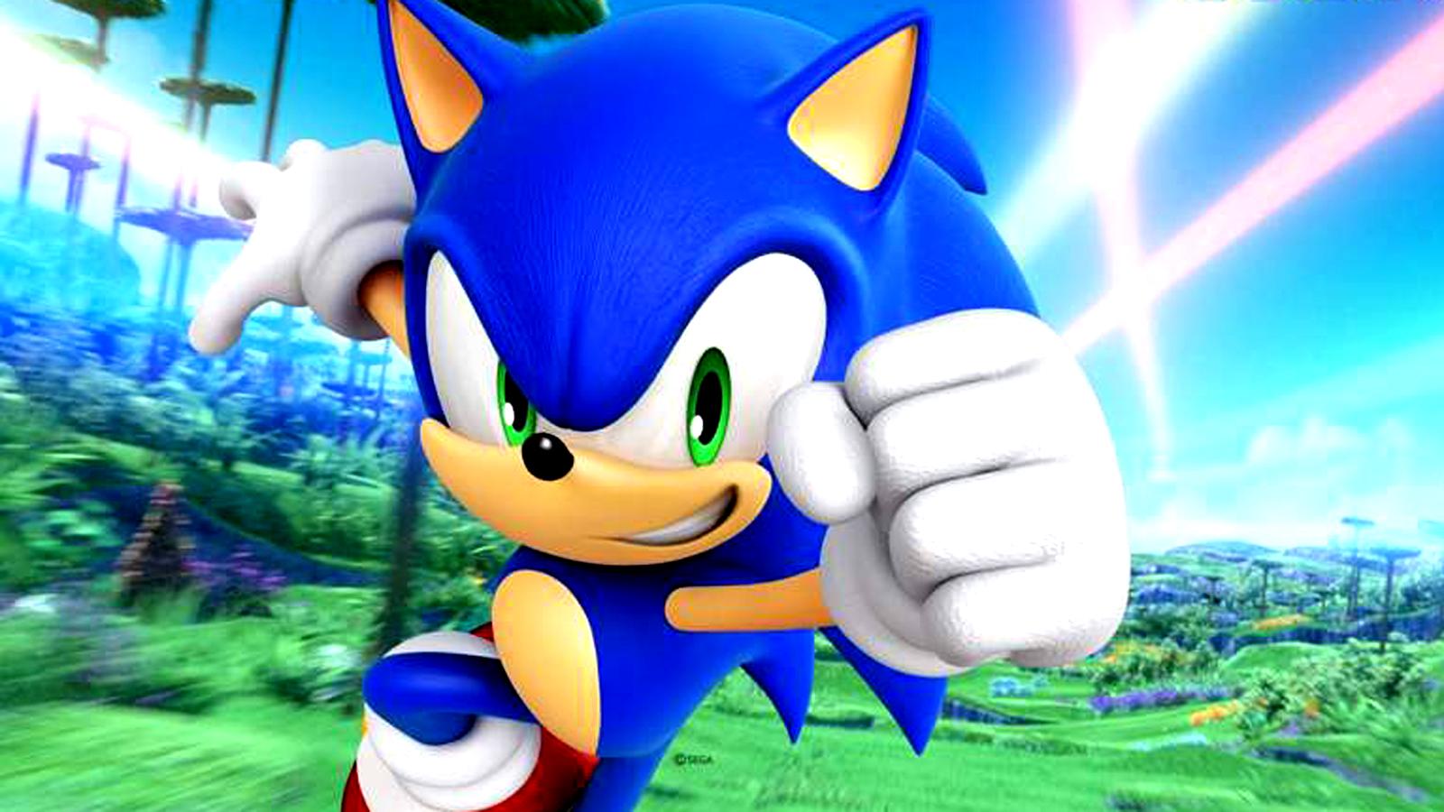 Sonic Colors - Titre Sonic