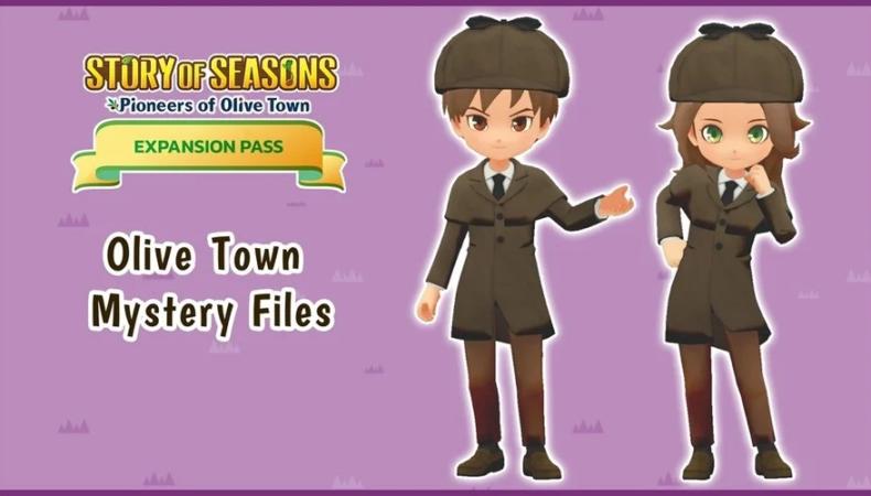 Story Of Seasons: Pioneers Of Olive Town detective