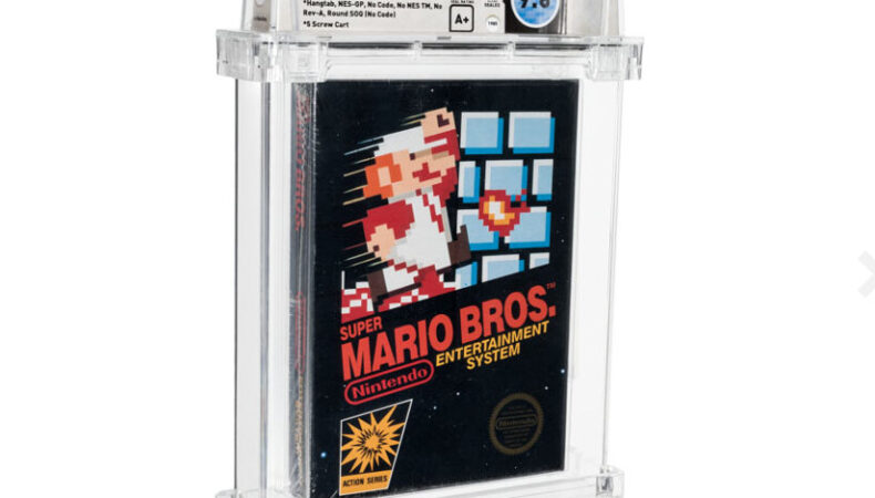 Super Mario Bros. Collectionneurs