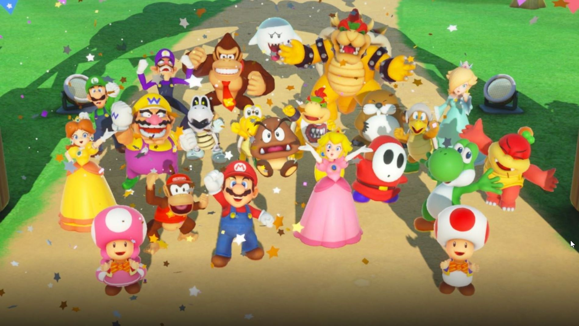 Super mario party groupe
