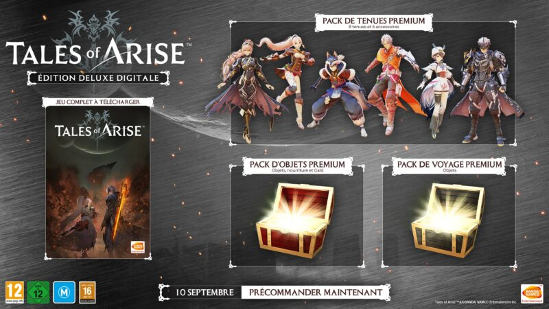 Tales of Arise - Edition deluxe digitale