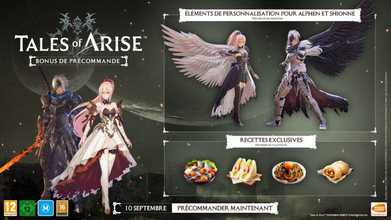 Tales of Arise - bonus