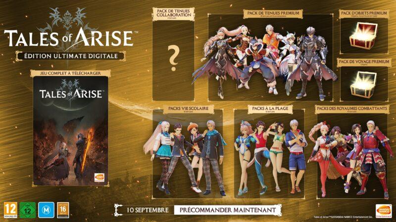 Tales of Arise - Edition ultimate digitale