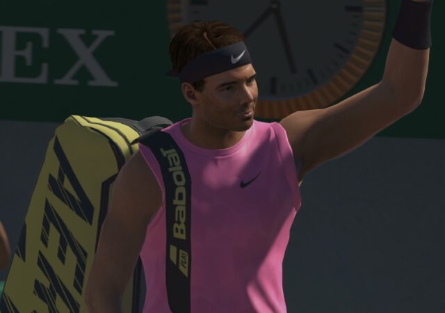 Test Tennis World Tour 2 PS5