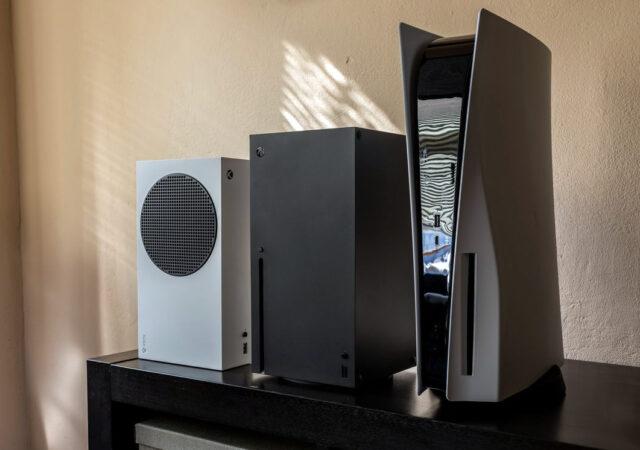 Xbox Series et PS5