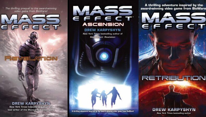 Mass Effect Livres