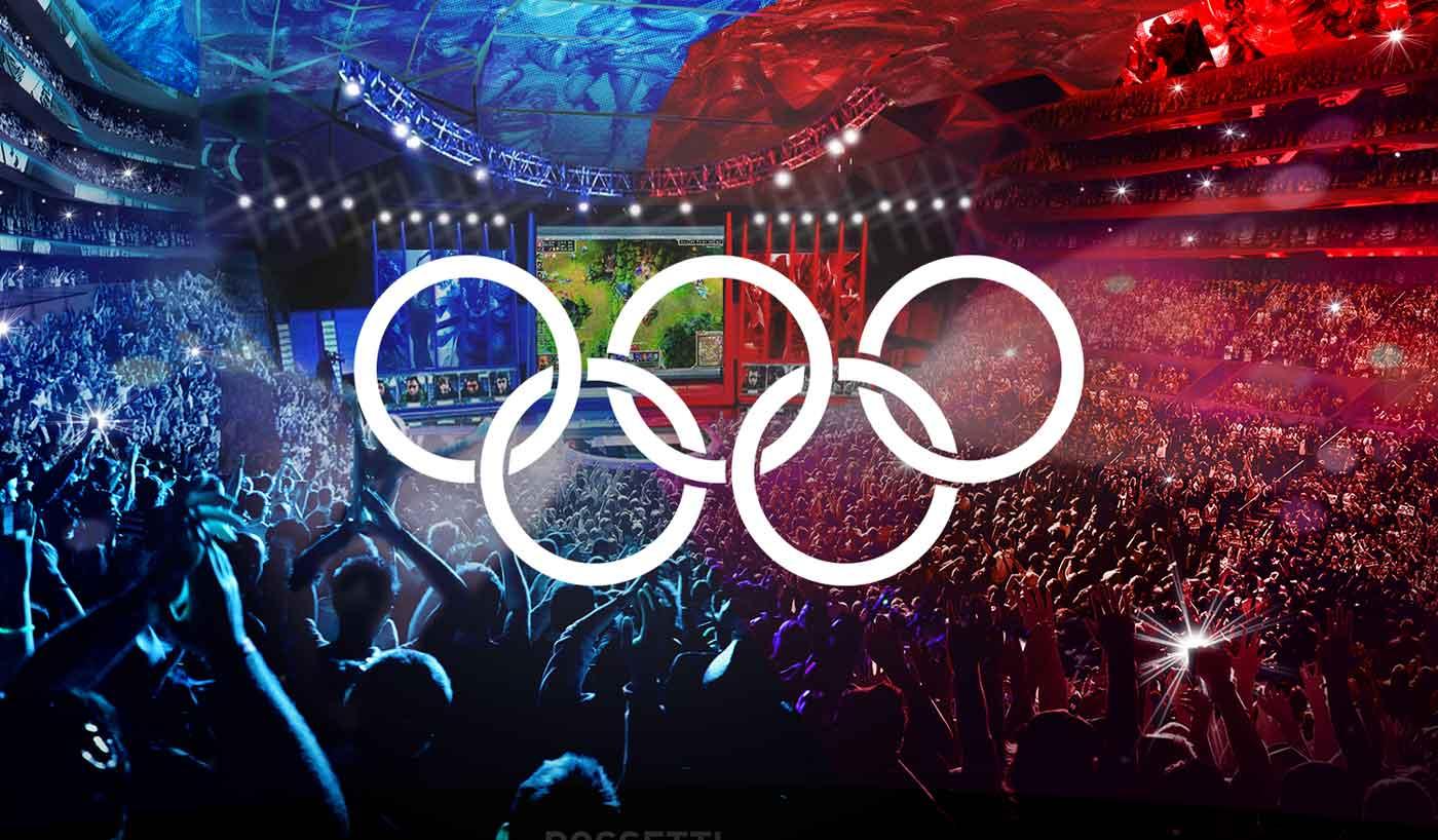 Olympic virtual series logo