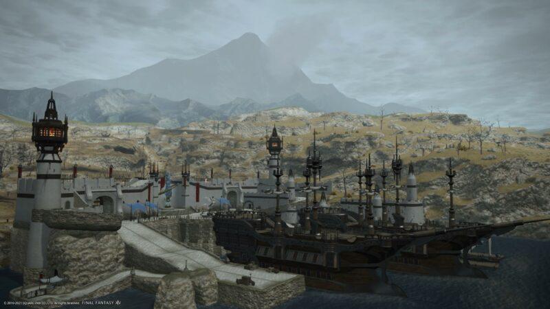 final fantasy XIV bêta PS5 - Full HD