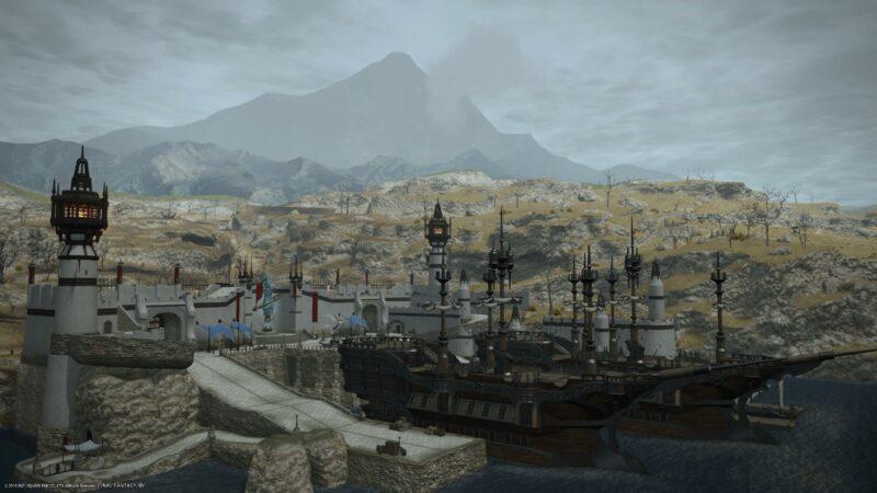 final fantasy XIV bêta PS5 - 1440p