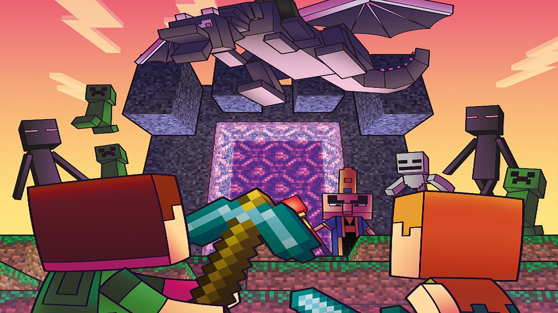 Minecraft : Voyage au centre du Nether art une