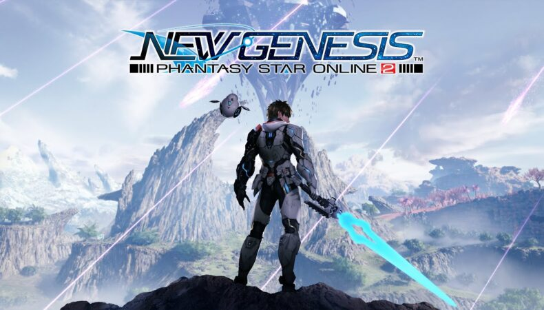 Phantasy Star Online 2 New Genesis logo