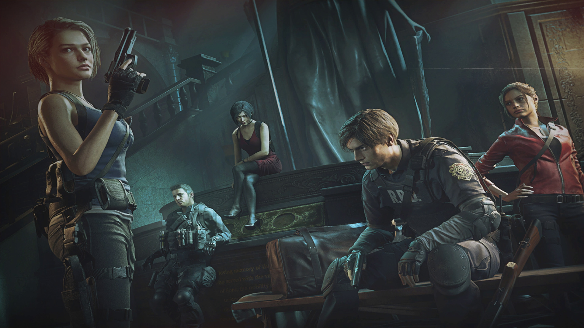 resident evil re:verse artwork une