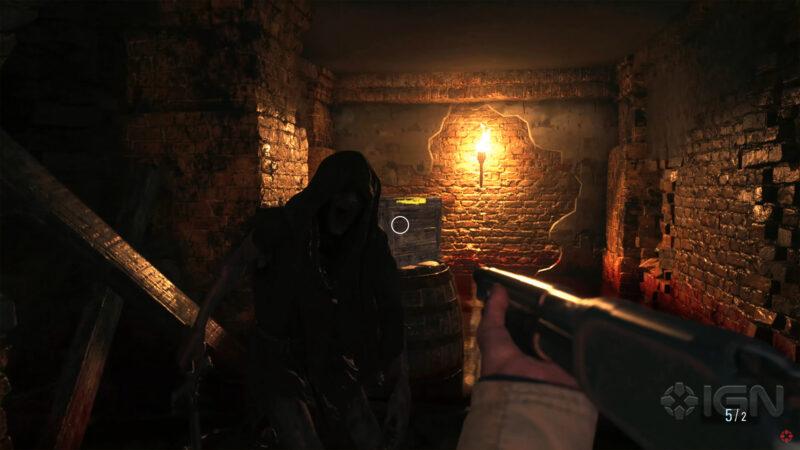 resident evil village shotgun