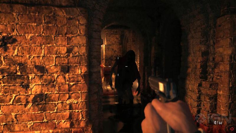 resident evil village catacombe zombie