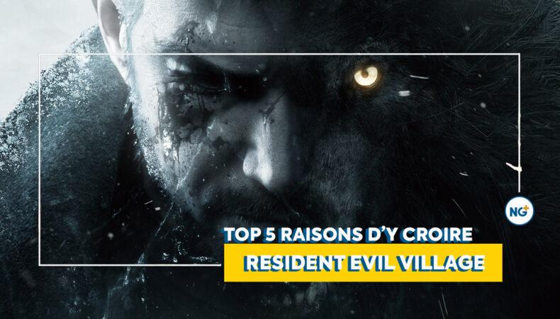 Resident Evil Village une top 5